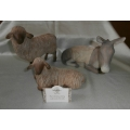 "WILLOW -TREE DEMDACO ""THE CHRISTMAS STORY""  GENTLE ANIMALS OF THE STABLE SET OF 3 MINT IN BOX 26206"