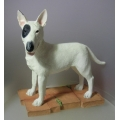 "BORDER FINE ARTS STUDIO   ""ENGLISH BULL TERRIER "" A24214  MINT IN BOX"
