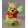 """POOH AND FRIENDS  """"JANUARY POOH HONEY POT FIGURINE"""" 1216154 MINT IN BOX"""