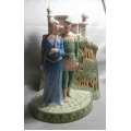 ROYAL DOULTON GREAT LOVERS SERIES ROBIN HOOD & MAID MARIAN  LIMITED EDITION  HN 3111 NO 17/150  NEW WITH CERTIFICATE AND ORIGINAL OUTER BROWN BOX