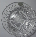 """STUART CRYSTAL  -MADE IN GREAT BRITAIN """"MEDIUM SIZE CASCADE DISH 12.5 cm"""" 6672229  MINT WITH BOX"""
