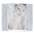 """SWAROVSKI SILVER CRYSTAL   """"CRYSTALLINE-STARLET PICTURE FRAME - MEDIUM"""" 626600  MINT IN BOX & PAPERS"""