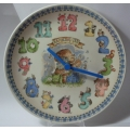 "WEDGWOOD  ""RAMBLING TED - CLOCK PLATE""  775600 MINT IN BOX"